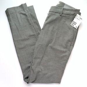 NWT H&M Slim Fit Black & White Career Pants Sz 2